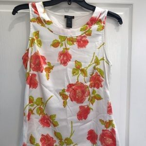 Stunning and Taylor top with fresh floral colors